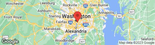 Map of 851 3RD STREET SW #101 WASHINGTON, DC 20024