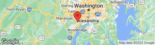 Map of 8510 BLUE ROCK LANE LORTON, VA 22079