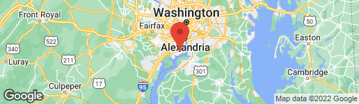Map of 8512 WAGON WHEEL ROAD ALEXANDRIA, VA 22309