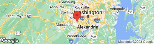 Map of 8515 ORDINARY WAY ANNANDALE, VA 22003