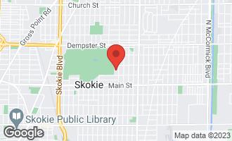 Map of 8524 Keeler Avenue SKOKIE, IL 60076