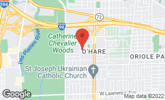 Map of 8542 West Catherine Avenue 4E CHICAGO, IL 60656