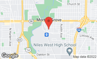 Map of 8546 Callie Avenue MORTON GROVE, IL 60053