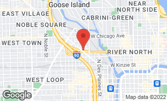 Map of 855 West Erie Street #118 CHICAGO, IL 60642