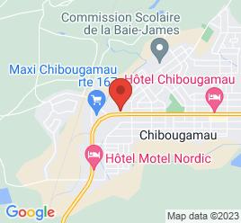 Google Map of 859%2C+3+Iieme+Rue%2CChibougamau%2CQuebec+G8P+1R1