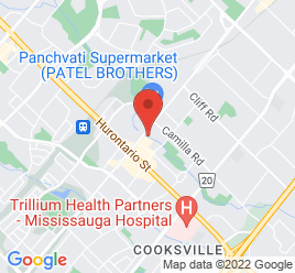 Google Map of 86+Dundas+Street+East%2CMississauga%2COntario+L5A+1W4