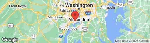 Map of 8619 GATESHEAD ROAD ALEXANDRIA, VA 22309