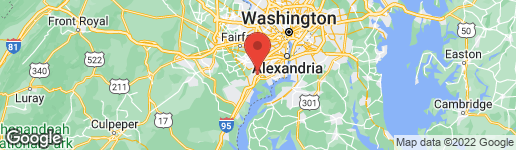 Map of 8620 WESTERN OAK DRIVE SPRINGFIELD, VA 22153