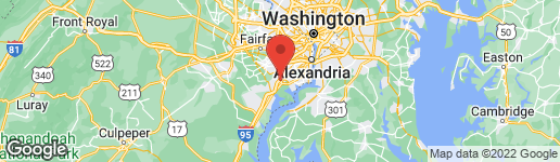 Map of 8623 LAGRANGE STREET LORTON, VA 22079