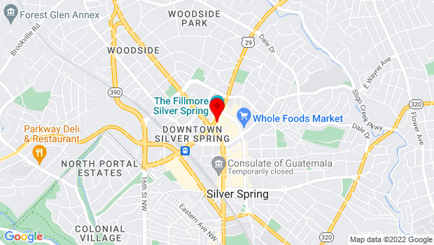 Google Map of 8633 Colesville Rd, Silver Spring, MD 20910
