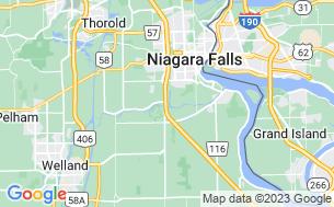 Map of Yogi Bear's Jellystone Park Camp Resort Niagara Falls