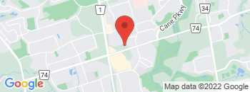 Google Map of 87+Mulock+Drive%2CNewmarket%2COntario+L3Y+8V2