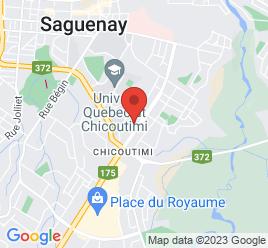 Google Map of 870+Boulevard+Talbot%2CChicoutimi%2CQuebec+G7H+4B4