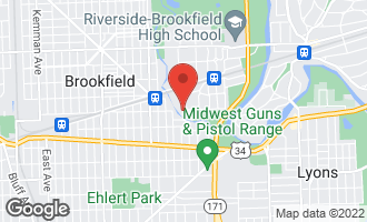 Map of 8710 Southview Avenue BROOKFIELD, IL 60513