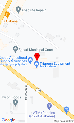 Google Map of Snead AG Supply & Services 87221 Hwy. 278 East, Snead, AL, 35952