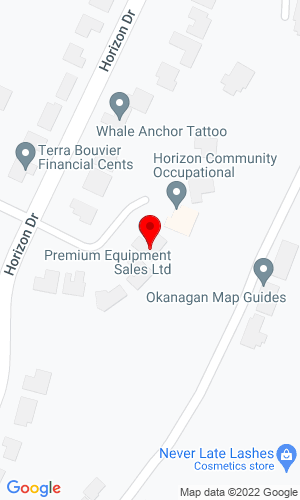 Google Map of Premium Equipment Sales Ltd 873 Horizon Crt, West Kelowna, British Columbia, Canada,
