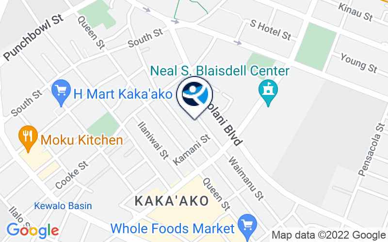 CARE Hawaii Honolulu Care Dual Diagnosis IOP Location and Directions