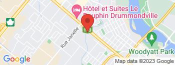 Google Map of 875%2C+Boulevard+St-Joseph%2CDrummondville%2CQuebec+J2C+2C4