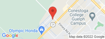 Google Map of 875+Woodlawn+Rd+West%2CGuelph%2COntario+N1K+1B7