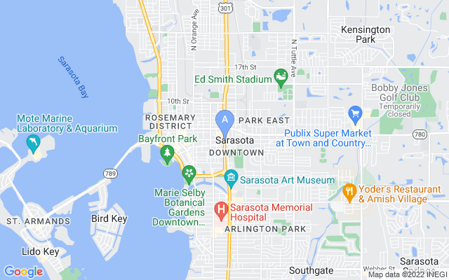 8750 Midnight Pass Rd #102 Sarasota Florida 34242 locatior map