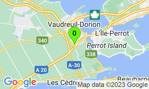 Carte du 877 Route Harwood, Vaudreuil-Dorion, G7V 8P2, Québec