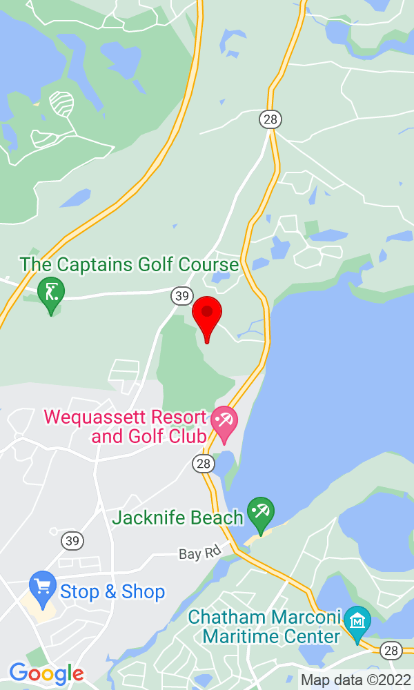 Google Map of 88 Woodstock Dr Brewster MA