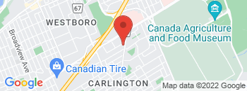 Google Map of 880+Merivale+Road%2COttawa%2COntario+K1Z+5Z6