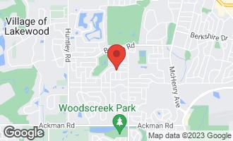 Map of 880 Bennington Drive Crystal Lake, IL 60014