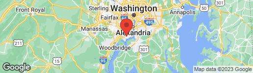 Map of 8805 LUKENS LANE ALEXANDRIA, VA 22309