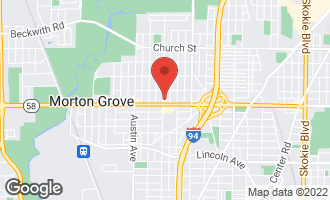 Map of 8811 Menard Avenue MORTON GROVE, IL 60053