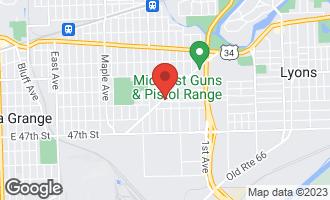 Map of 8811 Plainfield Road #1 BROOKFIELD, IL 60513