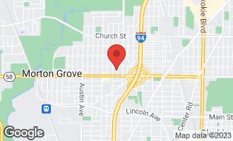 Map of 8822 Parkside Avenue MORTON GROVE, IL 60053