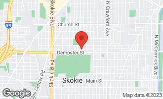 Map of 8825 Lowell Terrace SKOKIE, IL 60076