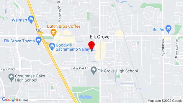 Google Map of 8840 Southside Ave., Elk Grove, CA 95624