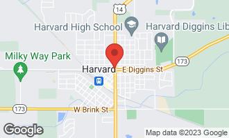 Map of 888 Confidential Road HARVARD, IL 60033
