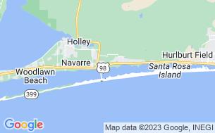 Map of Emerald Beach RV Park