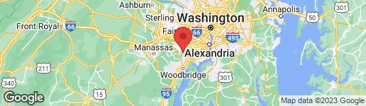 Map of 8908 GRANDSTAFF COURT SPRINGFIELD, VA 22153
