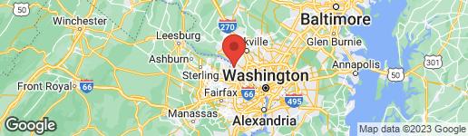 Map of 8917 BELMART ROAD POTOMAC, MD 20854