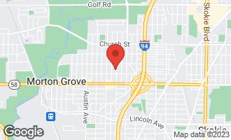 Map of 8918 Major Avenue MORTON GROVE, IL 60053