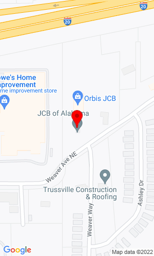 Google Map of Southland Machinery 8920 Weaver Avenue, Leeds, AL, 35094