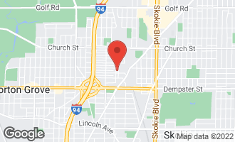 Map of 8941 Laramie Avenue SKOKIE, IL 60077