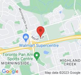 Google Map of 898+Milner+Ave%2CScarborough%2COntario+M1B+5N7