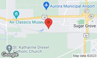 Map of 898 Snow Street SUGAR GROVE, IL 60554