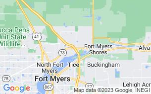 Map of Seminole Campground