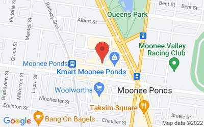 Map of Moonee Ponds Osteopathic Clinic