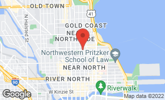 Map of 9 West Walton Street #2201 Chicago, IL 60610