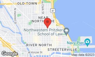 Map of 9 West Walton Street #2701 Chicago, IL 60610