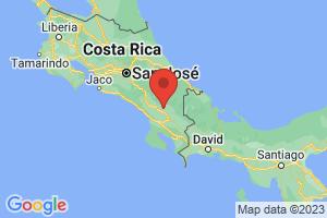 Map of Provincia de Puntarenas