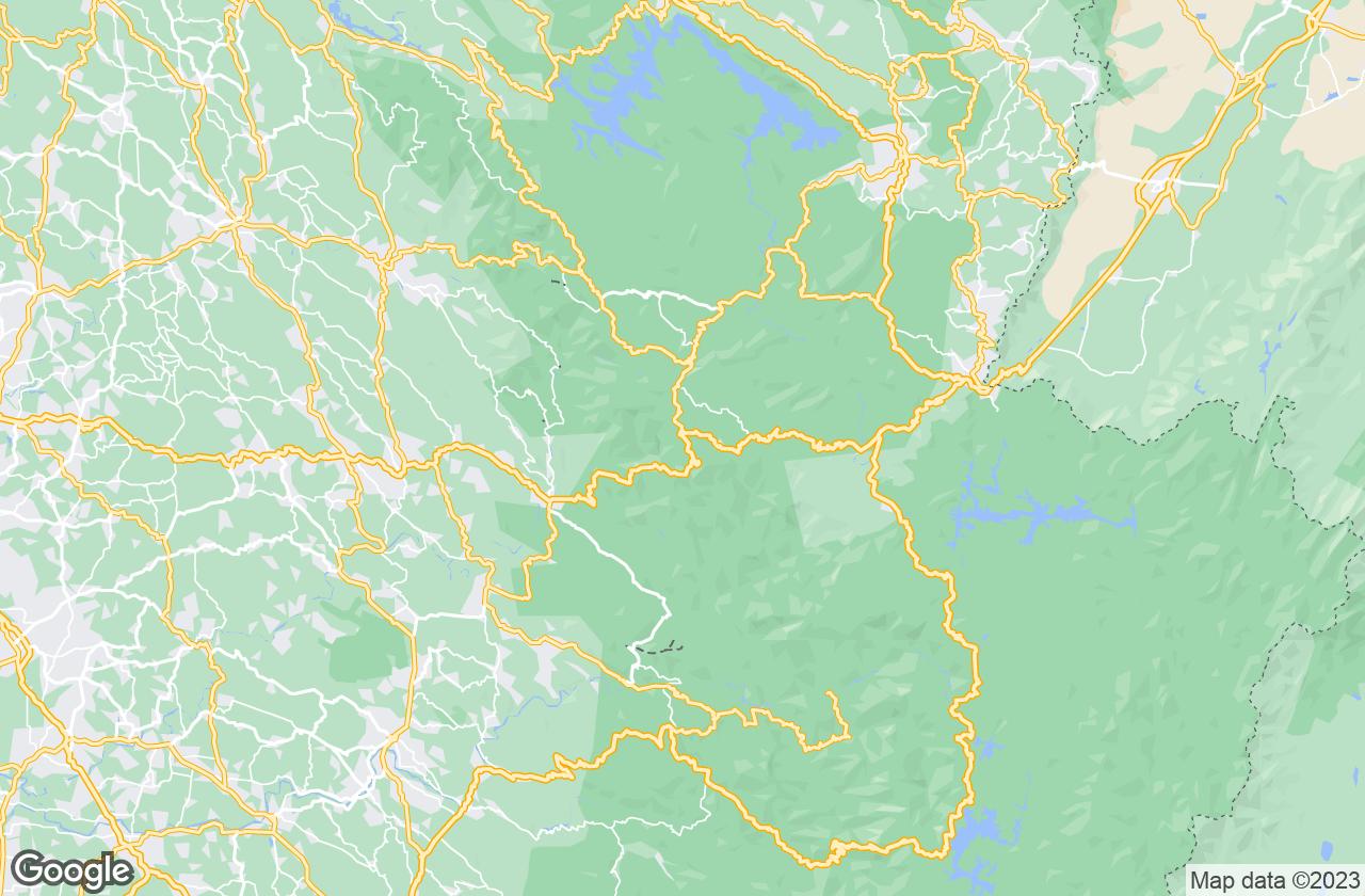 Google Map of Kuttikkanam