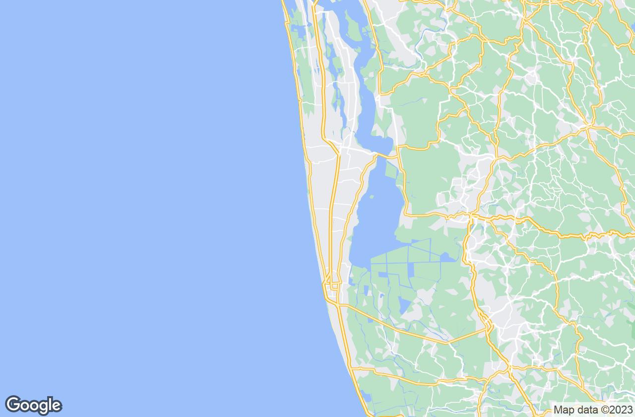 Google Map of Mararikulam لل